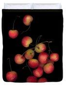 Cherries Multiplied Duvet Cover