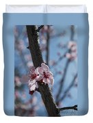Cherry Blossom Branch Duvet Cover