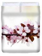 Cherry Blossom Branch Duvet Cover