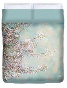 Cherry Blossom Dreams Duvet Cover