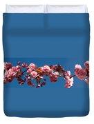 Cherry Blossom Flowers Duvet Cover