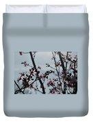 Cherry Blossom Transparency Duvet Cover