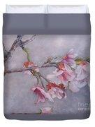 Japanese Cherry Blossom Tree Duvet Cover