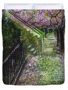 Cherry Blossom Walk Duvet Cover