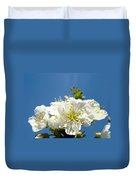 Cherry Blossoms Art White Spring Tree Blossom Baslee Troutman Duvet Cover