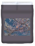 Cherry Blossoms In Bloom Duvet Cover