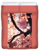 Cherry Blossoms In Washington D.c. Duvet Cover