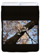 Cherry Blossoms Duvet Cover by Megan Cohen