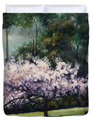 Cherry Blossoms Duvet Cover
