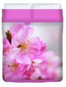 Cherry Blossoms Sweet Pink Duvet Cover