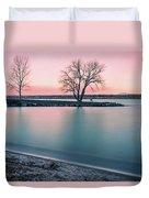 Cherry Creek Sunrise Duvet Cover