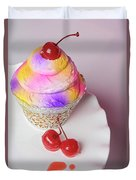 Cherry Cupcake Duvet Cover