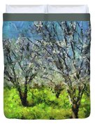 Cherry Orchard Duvet Cover