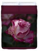 Cherry Parfait Rose Duvet Cover