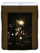 Cherry Point Trees Duvet Cover