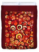 Cherry Tarts Duvet Cover