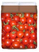 Cherry Tomato Harvest Duvet Cover