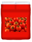 Cherry Tomatoes Fine Art Food Photography Duvet Cover