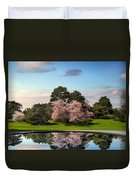 Cherry Tree Reflections Duvet Cover