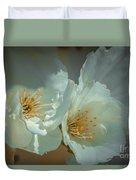 Cherryblossom Flowers Duvet Cover