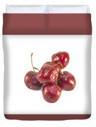 Cherrys Prunus Avium Duvet Cover