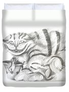 Chershire Cat  Duvet Cover