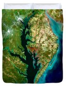Chesapeake Bay Duvet Cover