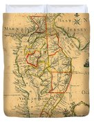 Chesapeake Bay 1786 Duvet Cover