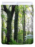 Chesapeake Oldgrowth Forest Duvet Cover