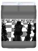Chess Pano Duvet Cover