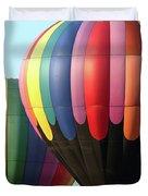 Chester County Balloon Fest 8765 Duvet Cover