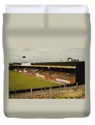 Chester - Sealand Road - Main Stand 1 - 1969 Duvet Cover