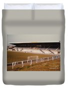 Chester - Sealand Road - Main Stand 2 - 1979 Duvet Cover