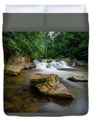 Chestnut Creek Falls  Duvet Cover