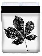 Chestnut Leaf Duvet Cover