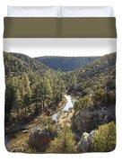 Chevelon Canyon Duvet Cover