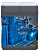 Chevhill Fabrications Duvet Cover by Ian  Ramsay