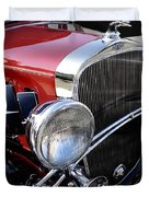 Chevrolet 1932 Deluxe Coupe Duvet Cover