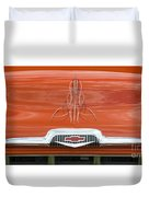 Chevrolet 30-1956 Hydramatic 3100 Duvet Cover