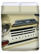 Chevrolet Apache 31 Fleetline Front End Duvet Cover