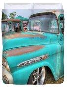 Chevrolet Apache Duvet Cover