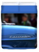 Chevy Blues Duvet Cover