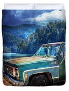 Chevy Bonanza Duvet Cover