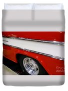 Chevy Cameo 1957 Duvet Cover