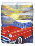Chevy Dreams Duvet Cover
