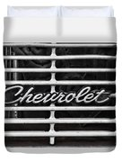 Chevy Grill Duvet Cover