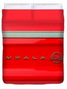 Chevy Impala Ss 237 Duvet Cover