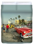 Chevy On The Prom  Duvet Cover