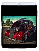 Chevy On The Run Duvet Cover