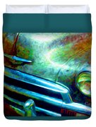 1953 Bel Air Chevy Project 2 Duvet Cover